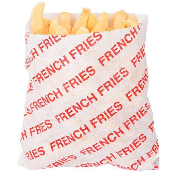 French Fries Bags