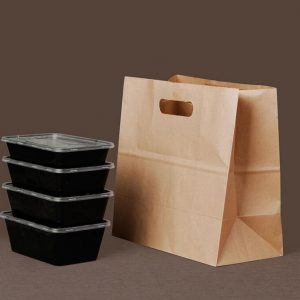 Food Take Away Paper Bags